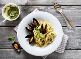 pasta-mussels