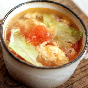 tomato-lettuce-soup