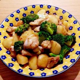 broccoli-chicken-butter