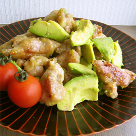 avocado-chicken