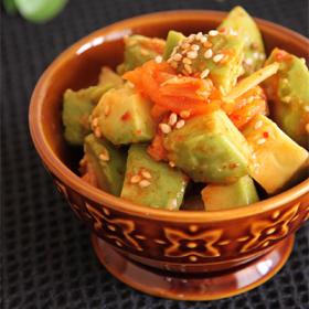 avocado-kimchi