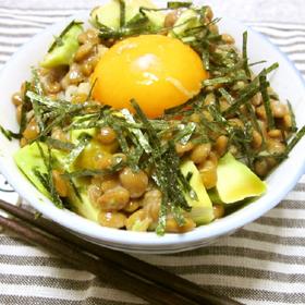 avocado-natto