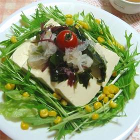seaweed-tofu-sallad