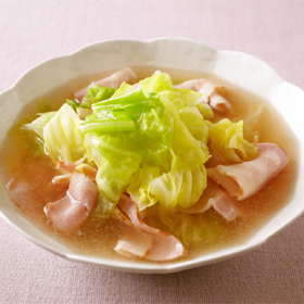 cabbage-bacon-soy-sauce