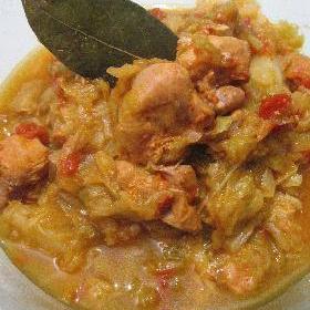 cabbage-chicken-curry
