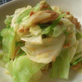 cabbage-tuna