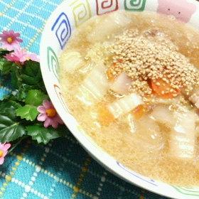 harusame-hakusai-soup