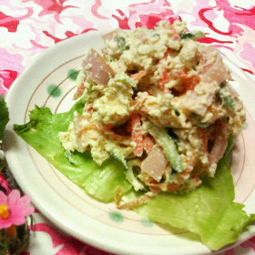 okara-misomayo-salad