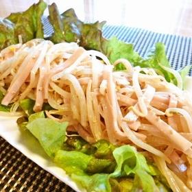 moyashi-ham-salad