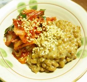 kimchi-natto