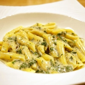 parsley-anchovy-penne
