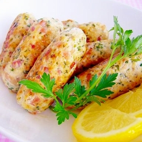 parsley-lemon-sausage