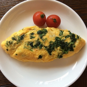 parsley-omlette