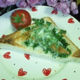 parsley-toast