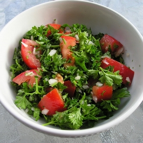 parsley-tomato-salad