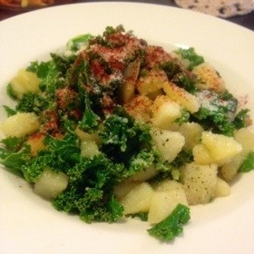 kale-potato-fried