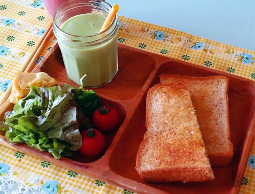 smoothie-and-salad