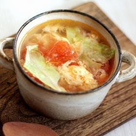 tomato-letuce-soup