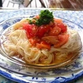 tomato-tuna-somen