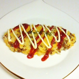 natto-omlette-rice