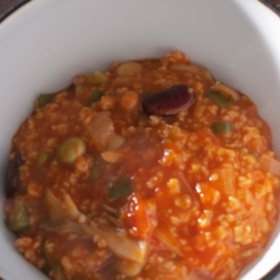 oatmeal-tomato-risotto