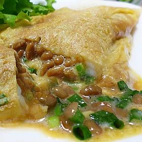 omlette-natto