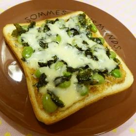 edamame-shirasu-toast