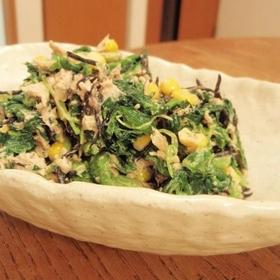 spinach-hijiki-salad