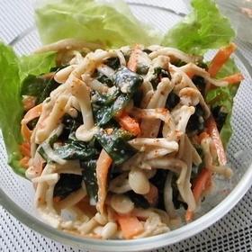 wakame-enoki-salad