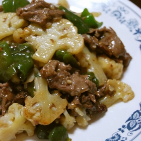 cauliflower-beef-chinese