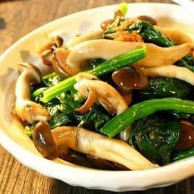 spinach-shimeji-ohitashi