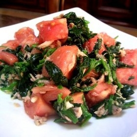 spinach-tomato-tuna