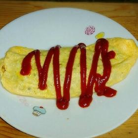 azuki-omlette