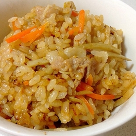 carrot-pork-rice