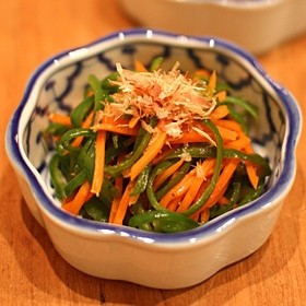carrot-poivron-kinpira
