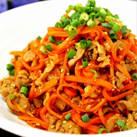 carrot-pork-fried