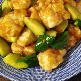 umeboshi-chicken-kyuri-fried