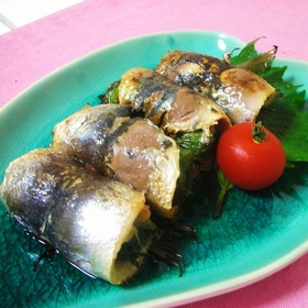 umeboshi-iwashi-roll