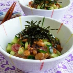 umeboshi-natto-kyuri