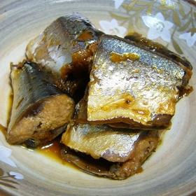umeboshi-sanma-stewed