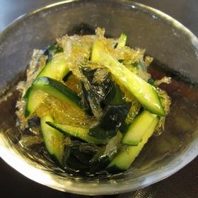kanten-kyuri-wakame-salad