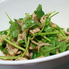coriander-chicken-sasami-salad