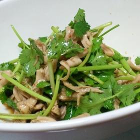 coriander-chicken-sasami-salad