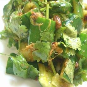 coriander-cucumber-salad