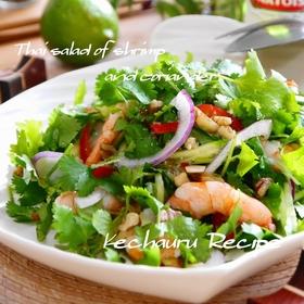 coriander-prawn-salad