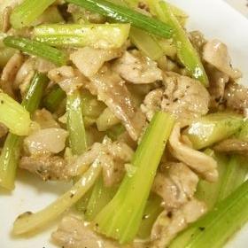 celery-pork-fried